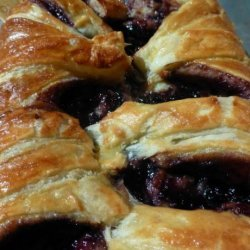 Puff Pastry Cheese and Preserve Danish