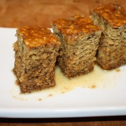 Banana Ginger Parkin recipe