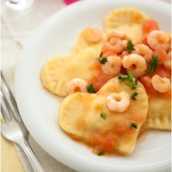 Fish in Shrimp Sauce
