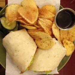 Chicken Mango Salsa Wraps