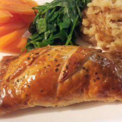 Chicken Wellingtons recipe