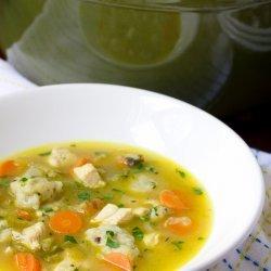 Chicken of Dumpling Soup