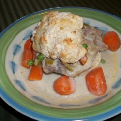 Creamy Chicken With Biscuits