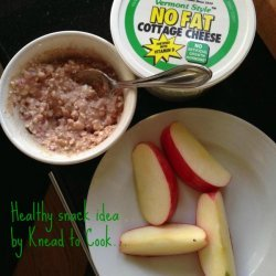 Peanut Butter Cottage Cheese Snack