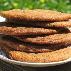 Simple Gingersnaps