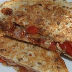 Super BBQed Toasted Sandwiches