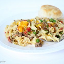 Ground Beef & Noodles