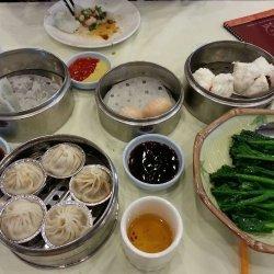 Steamed Shrimp and Vegetable Dumplings