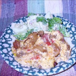 Bacon, Potato, Carrot, Onion Casserole recipe