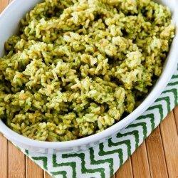 Lemon Pesto Rice