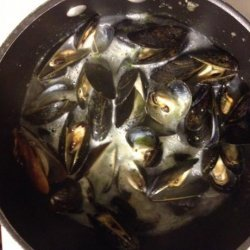 Steamed Mussels With Sauce Aurore