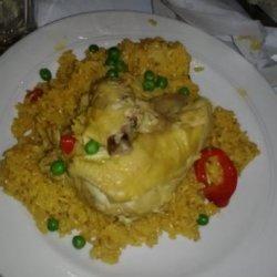 Arroz Con Pollo Valenciana  - Columbia Restaurant (Chicken &