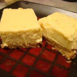 Limoncello Liqueur  Plus Cheesecake Squares