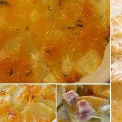 Crock Pot Scalloped Potatoes With  'am