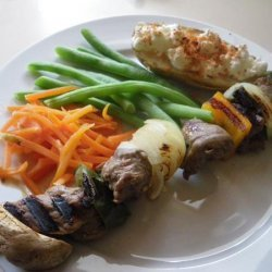 Beef Teriyaki Shish Kabobs recipe