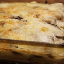 Polenta Gratin With Mushrooms and Fontina