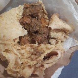 Caribbean Trinidad Roti