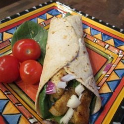 WW Cajun Chicken Spinach Wraps 5 Points recipe