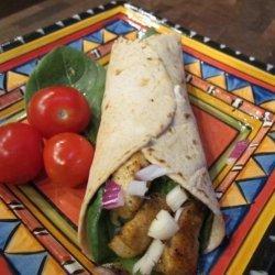 WW Cajun Chicken Spinach Wraps 5 Points