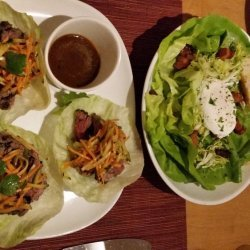 Steak Lettuce Salad