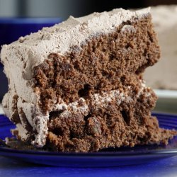 Mocha Whipped Cream Frosting