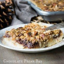 Caramel Chocolate Pecan Bars