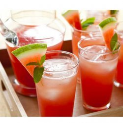 Sparkling Watermelon Lemonade Spritzers