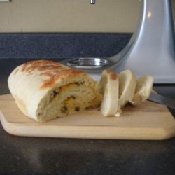 Onion Cheddar Quick Bread