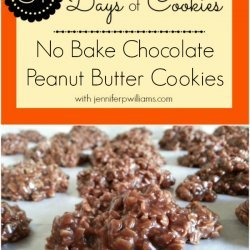 Gluten-Free Chocolate No-Bake Cookies