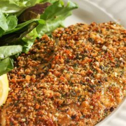 Herb Crusted Tilapia