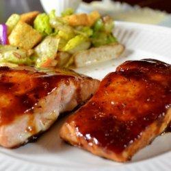 Asian Barbecue Salmon