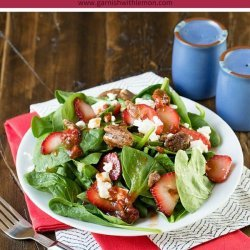 Spinach, Strawberry and Feta Salad