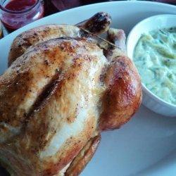 Martha's Cinnamon Broiled Chicken With Raita