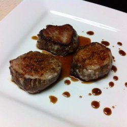 Spiced Pork With Bourbon Reduction Sauce