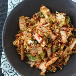 Spicy Asian Cabbage