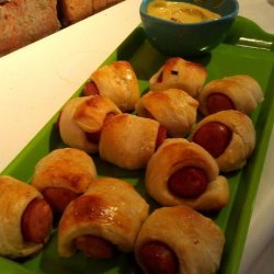 Movie Night Pretzel Dogs With Sweet Curry Mayo recipe