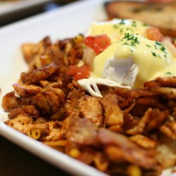 Chicken and Corn Hash