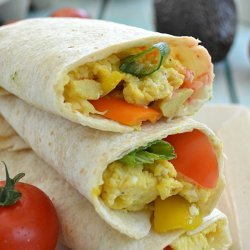 Loaded Veggie Wraps