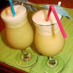 Rum Punch Painkiller and Banana Bender
