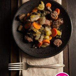 Sausage and Beef Casserole