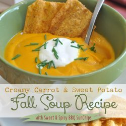 Sweet Potato and Spicy Carrot Soup