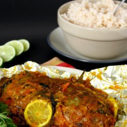 Baked Fish with Spices