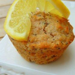 Whole Wheat Lemon Poppy Seed Muffins