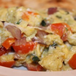 Indian Scrambled Egg