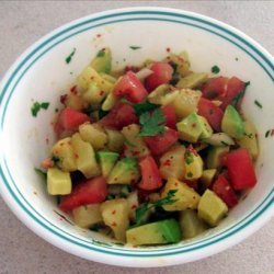 Pineapple-Avocado Salsa