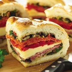 Stuffed Italian Sandwich