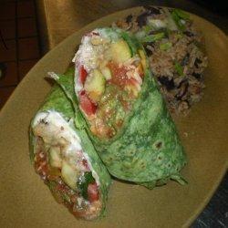 Shrimp-Potato Burrito With Sundried Tomato Salsa