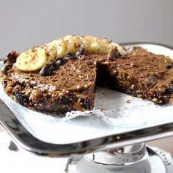 Chocolate Banana Nut Pie