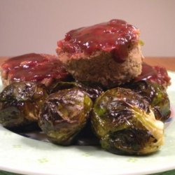 Mini Turkey Meatloaves With Barbecue Sauce