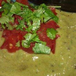 Spiced Avocado Soup